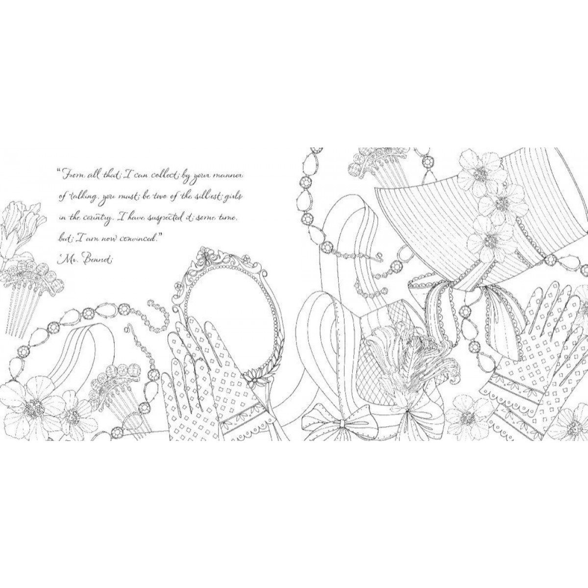 Pride And Prejudice Coloring Book