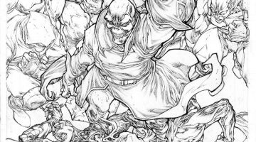 Red Skull Coloring Pages