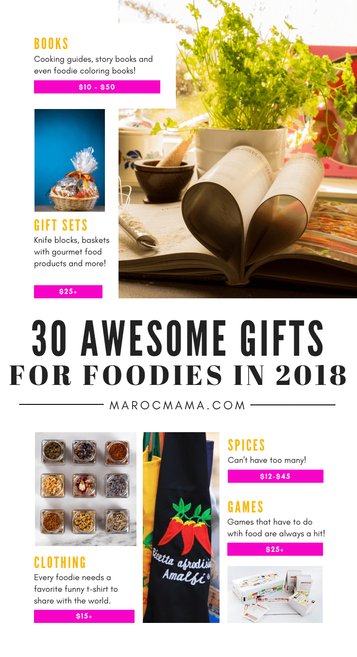 30 Awesome Gifts For Foodies In 2018