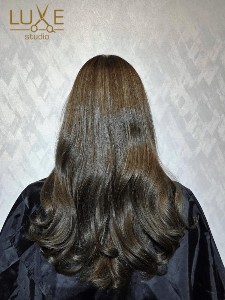 Korean Wave Perm & Matt Brown Babylight Hair Color