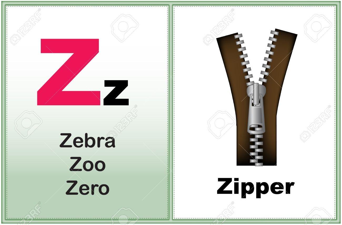 Alphabet Letter Z With Clip