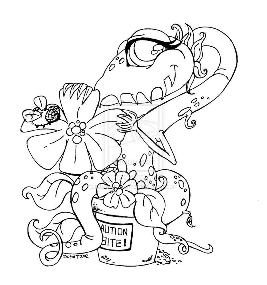 Adoptable Shy Venus Fly Trap By Jadedragonne