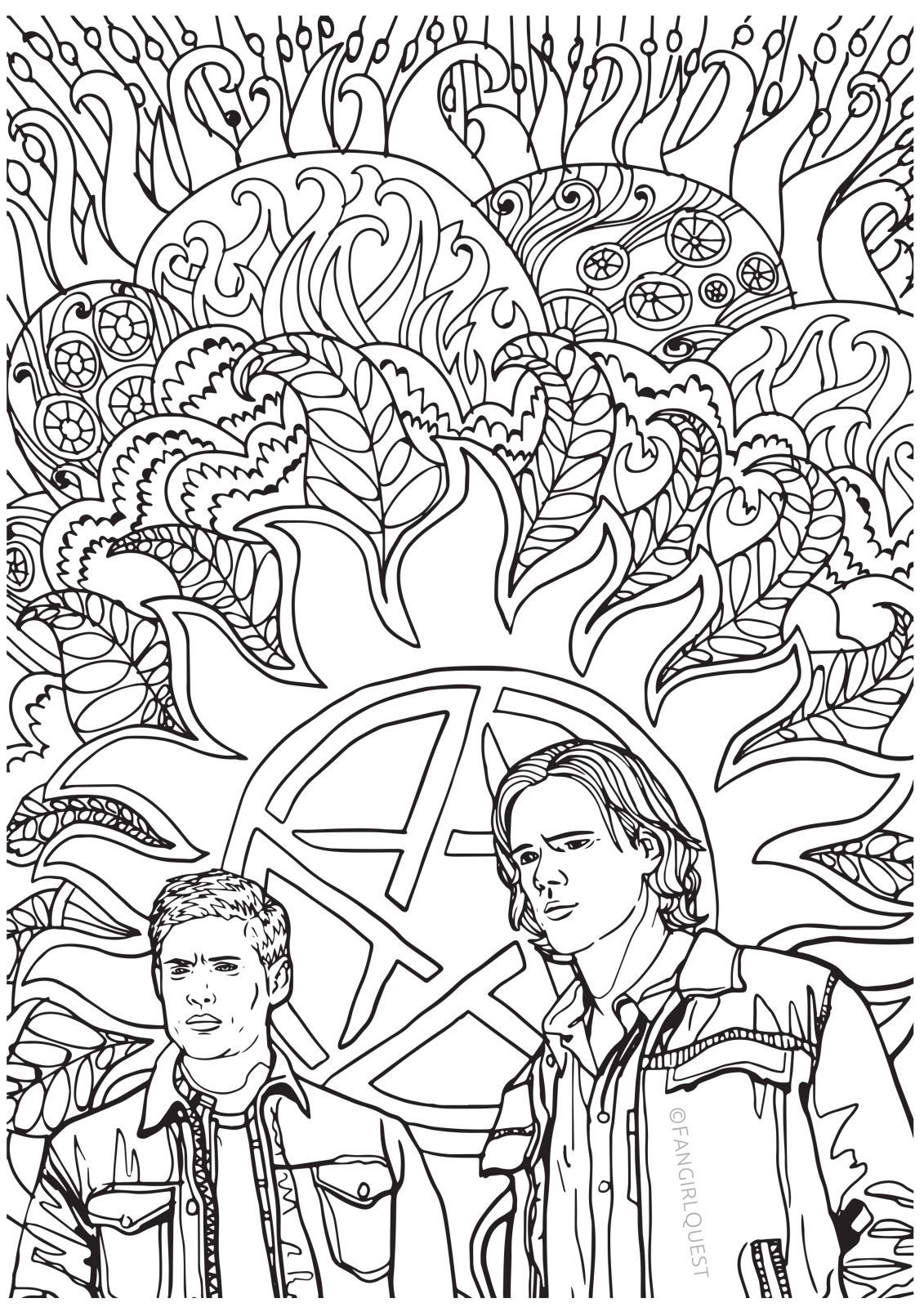 Coloring Pages For Adults Tumblr