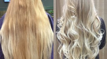 Coloring Hair After Highlights