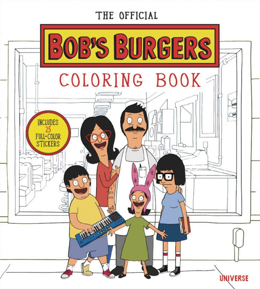 The Official Bob's Burgers Coloring Book (volume)