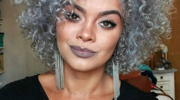 Coloring African American Gray Hair