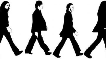 The Beatles Silhouette