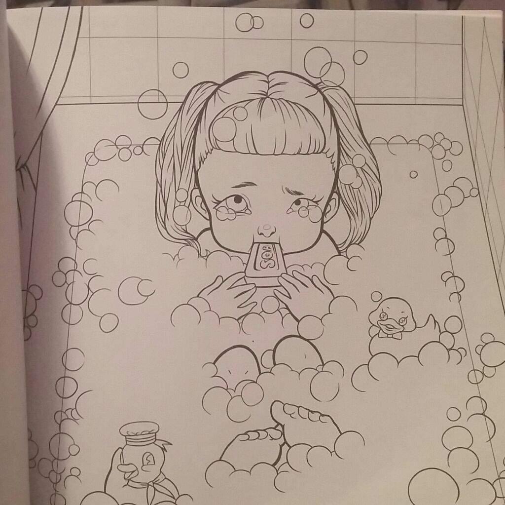Crybaby Coloring Book!