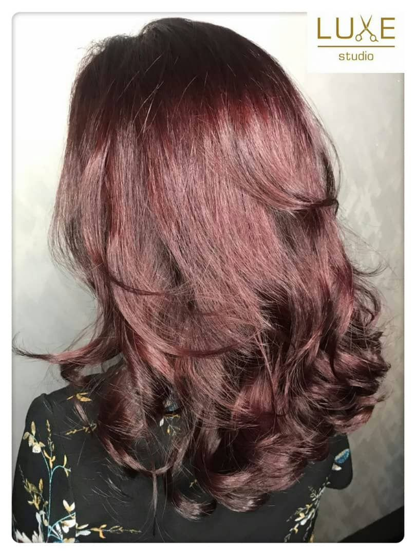 For The Sophisticated & Stylish ~ Korean Wave Perm & Summer Rose