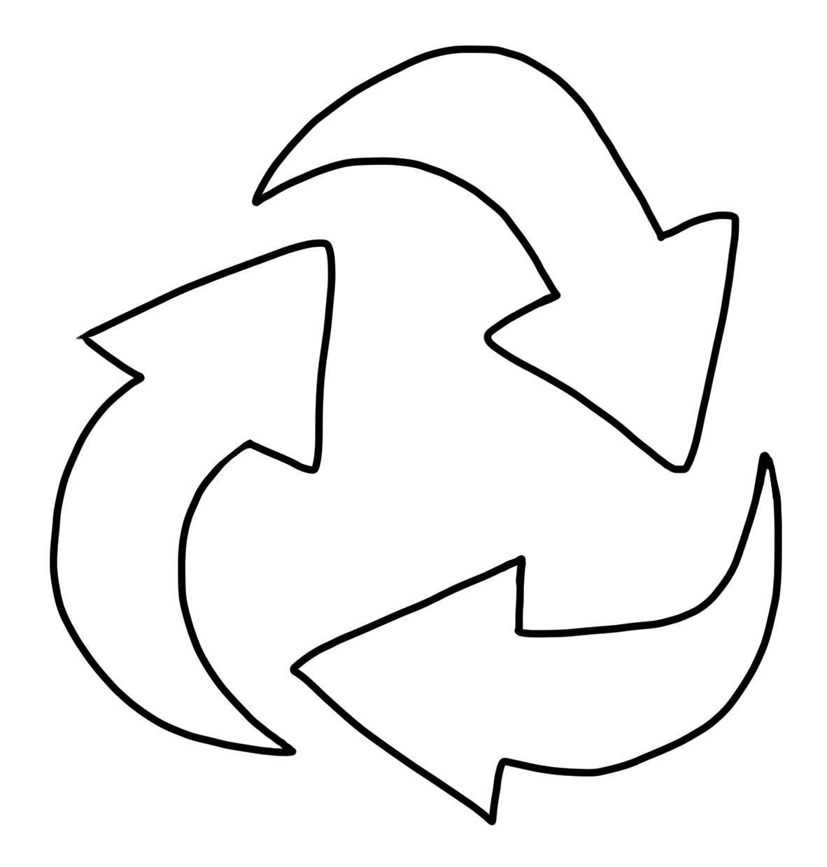 Free Recycling Symbol Printable, Download Free Clip Art, Free Clip