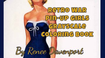 Pin Up Coloring Book