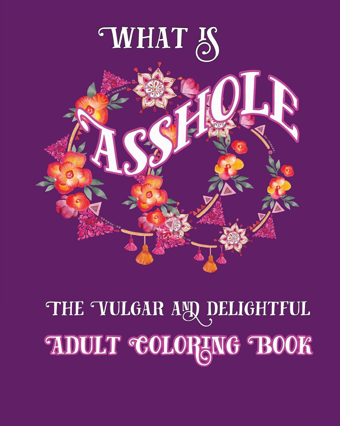 What Is Asshole  The Vulgar And Delightful Adult Coloring Book