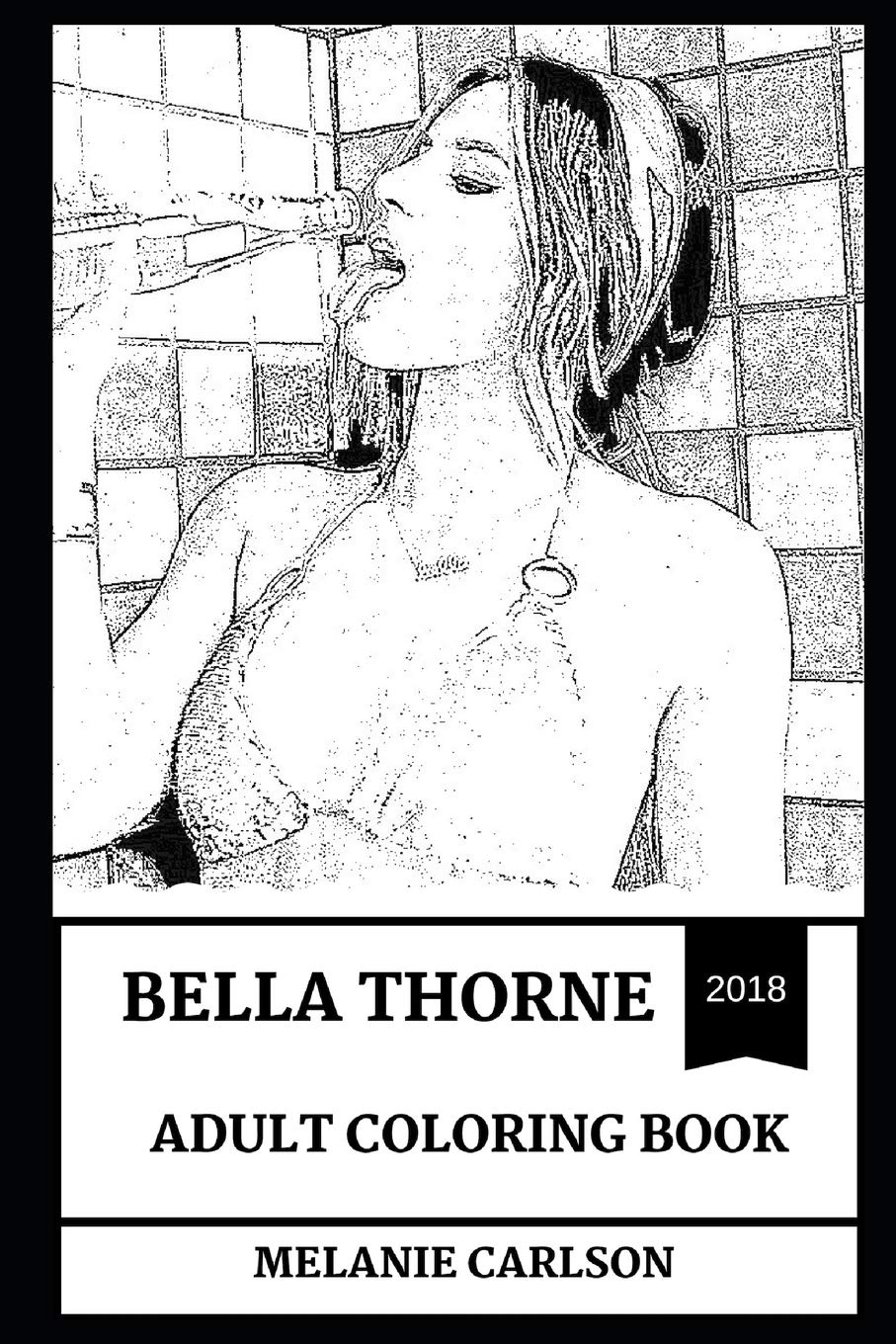 Bella Thorne Adult Coloring Book  Famous Child Model And