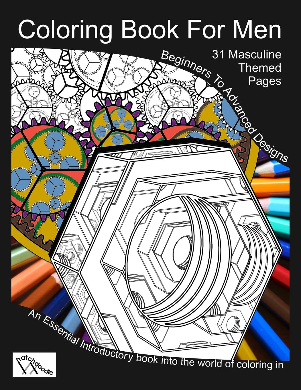 Amazon Com  Coloring Book For Men  Totally Masculine Themes