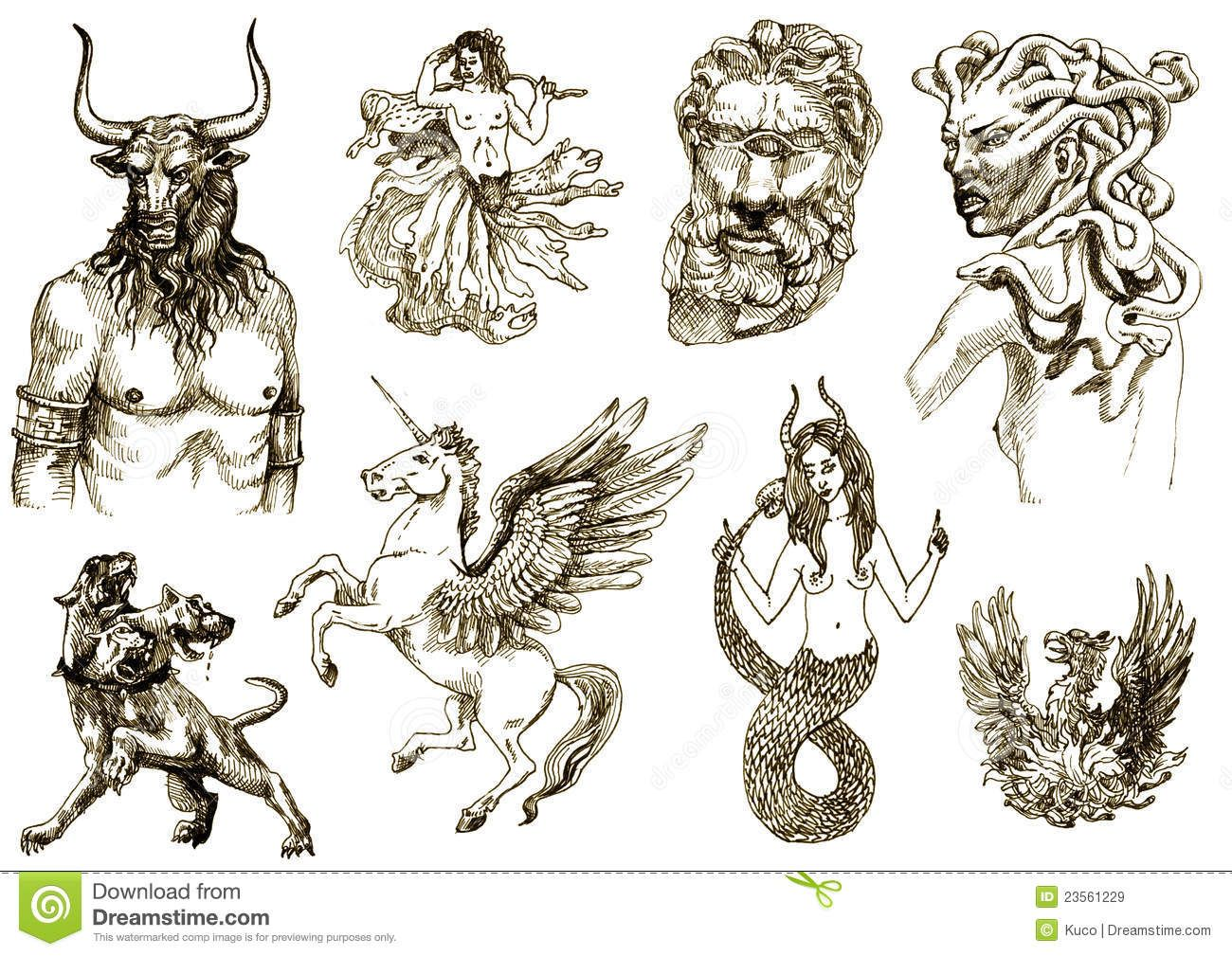 All Greek Mythology Creatures