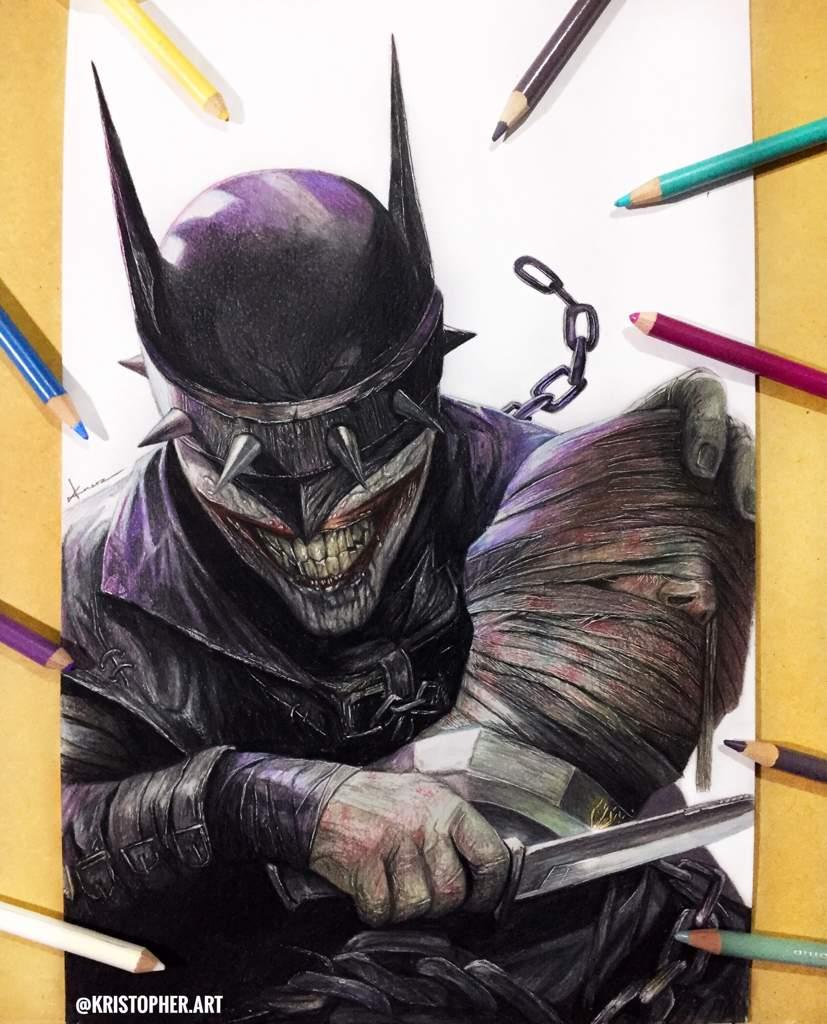 Dibujo De Batman Que Ríe 🦇