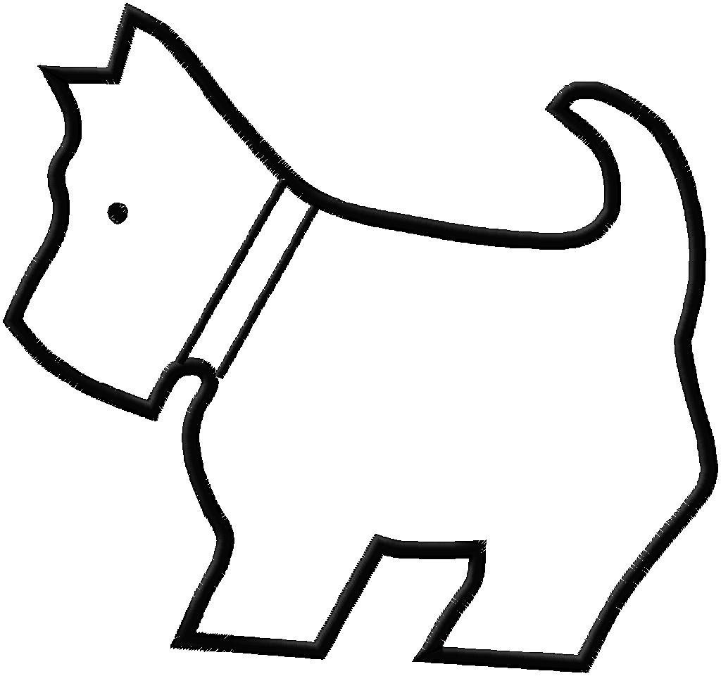 Free Outline Of A Dog, Download Free Clip Art, Free Clip Art On