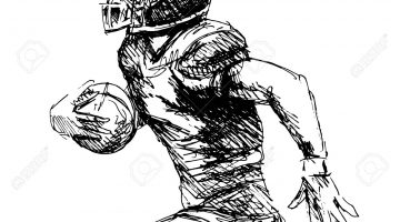 Football Player Sketch