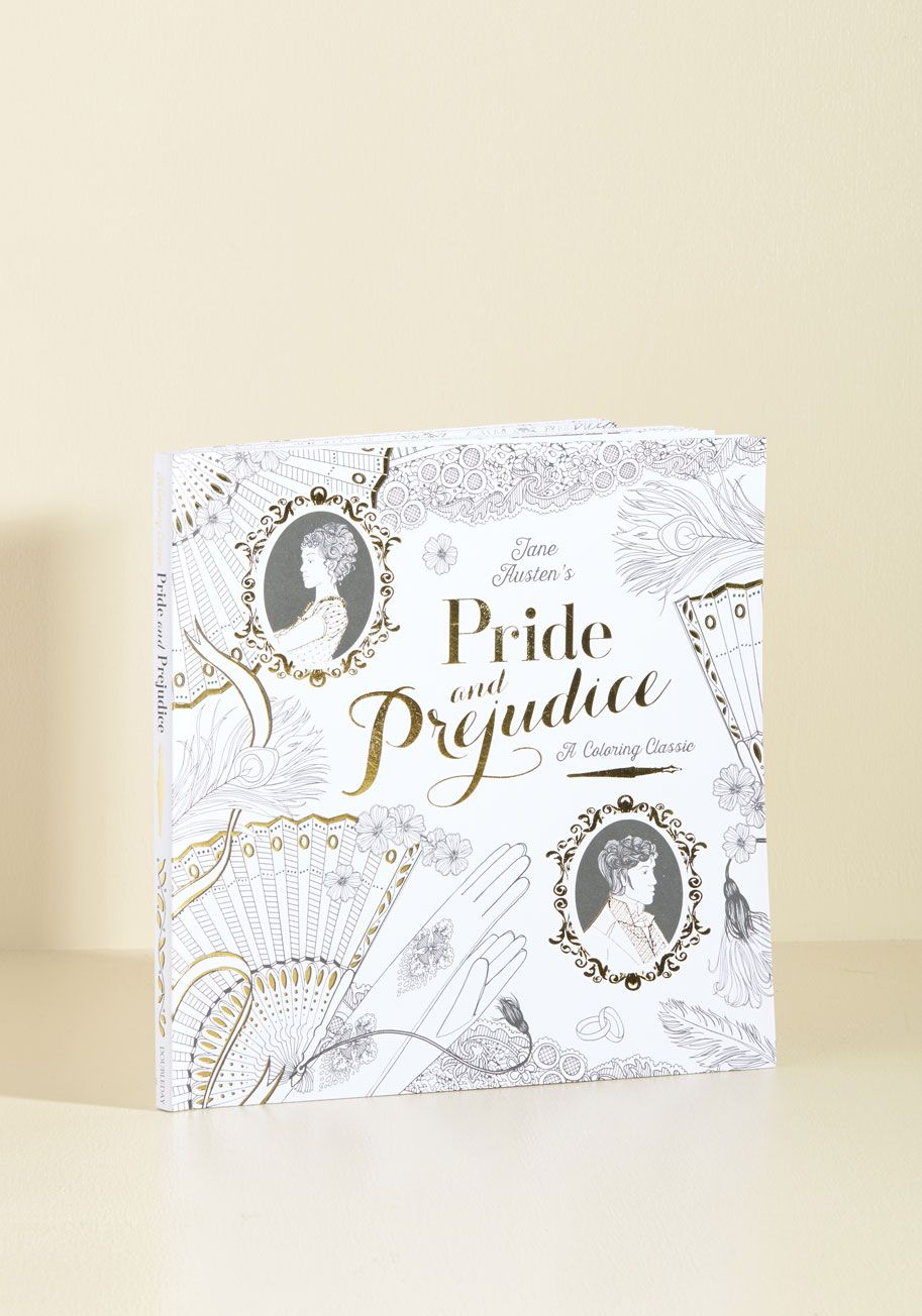 Pride And Prejudice  A Coloring Classic  Revisit Your Favorite