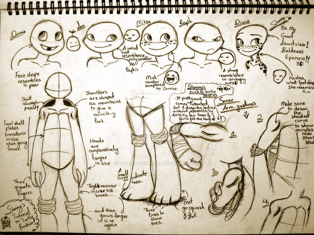 A Tmnt Tutorial By Shenbug On Deviantart