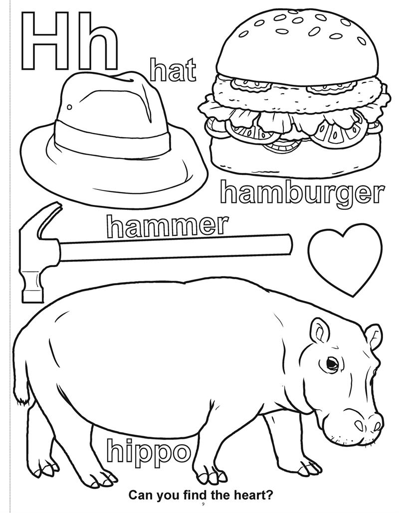 Coloring Page ~ Abccoloringbook2 Coloring Books Learn My Letter