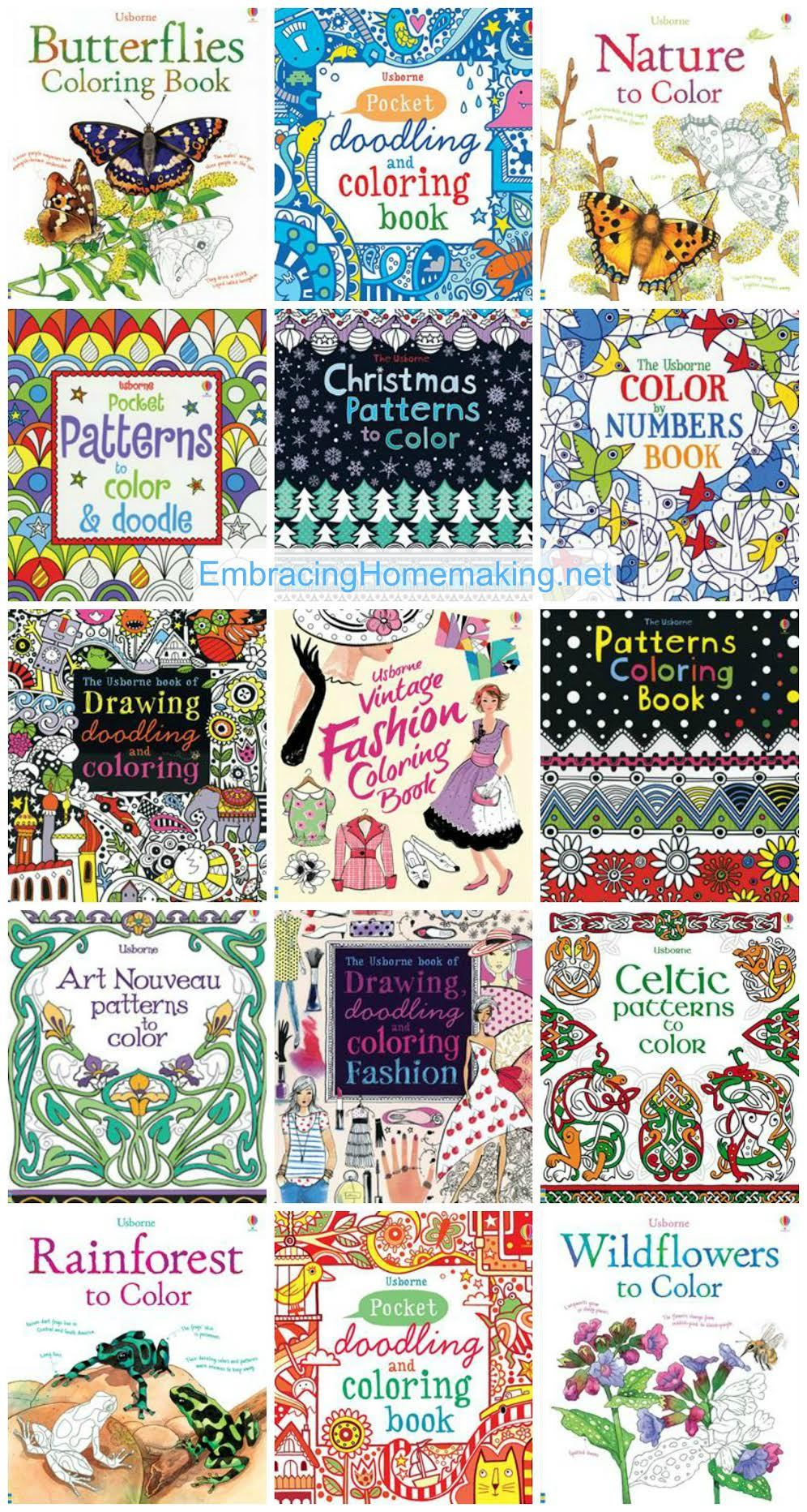 15 Adult Coloring Book