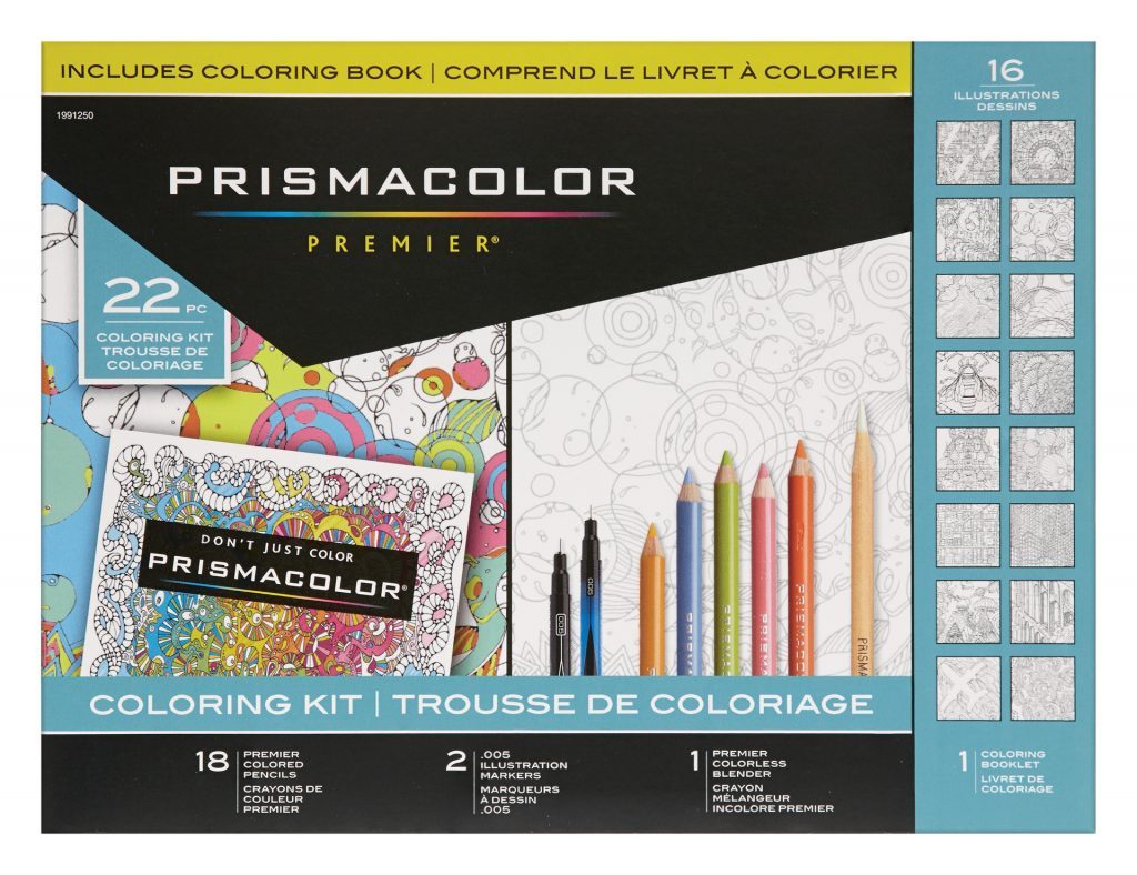 Coloring Page ~ Adult Coloring Kits W1920 Prismacolor Premier Book
