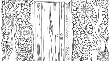 Adult Word Coloring Book