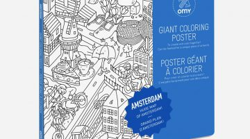 Omy Coloring Posters