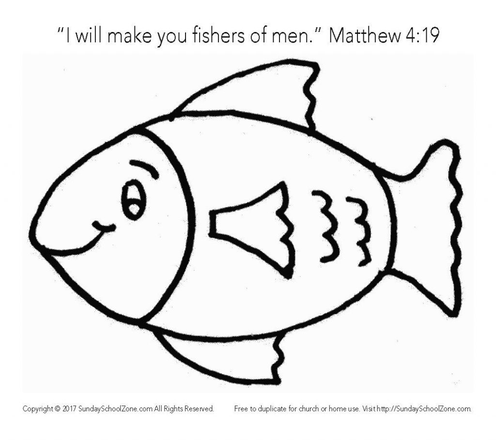 Awesome Fishers Of Men Coloring Page Bible Story For Kids Matthew 4 19