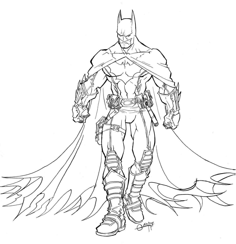 Batman Coloring Pages Printable Batmanloring Pages For Kids
