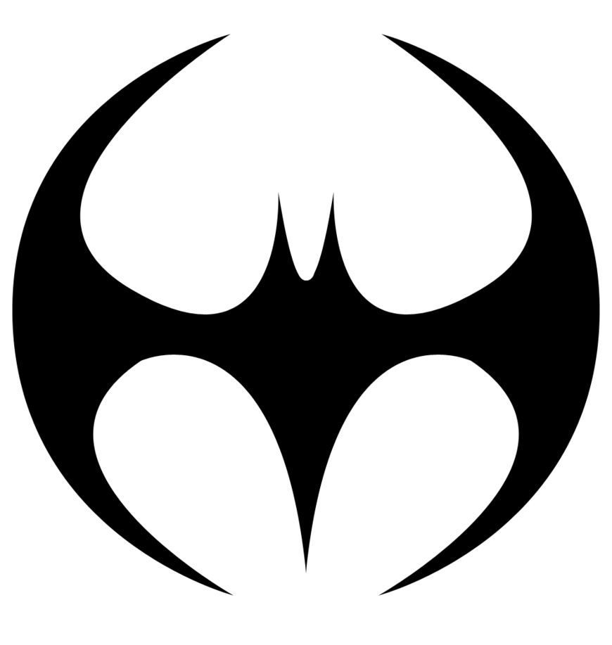 Batman Insignia Template Clipart