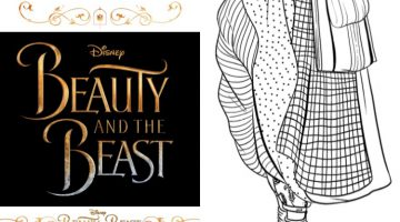 Coloring Book Pages Beauty And The Beast