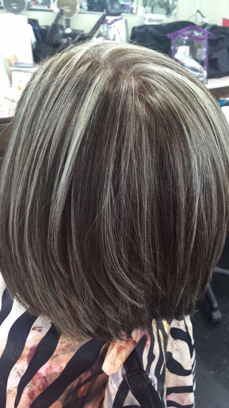 Silver Highlights @haircydgoes …
