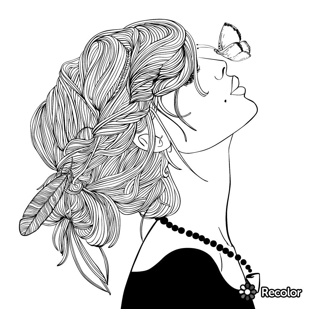 Collection Of Hipster Coloring Pages 8i Within Tumblr