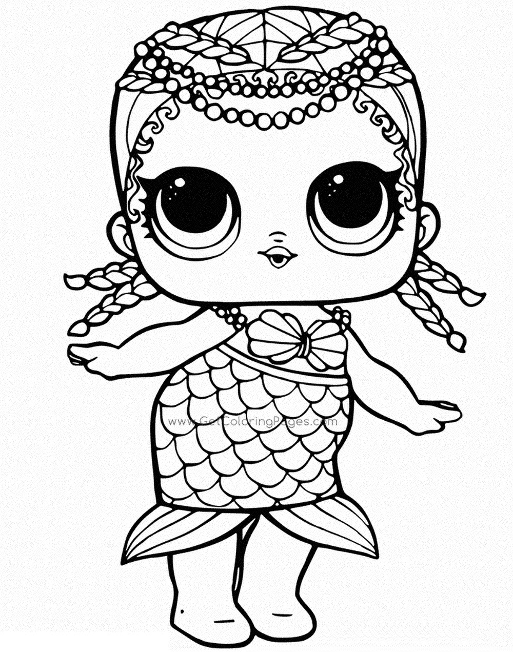 Coloring Page ~ Coloring Page Lol Surprise Dolls Pages Print Them