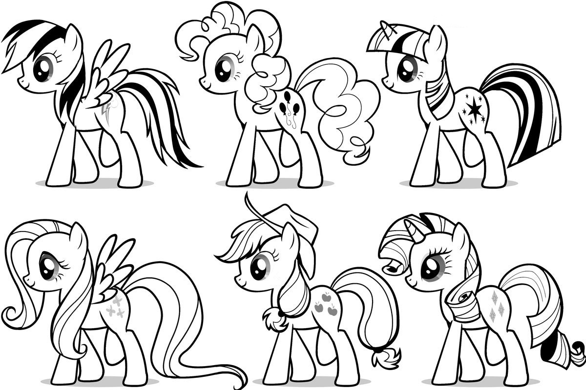Coloring Page  33 My Little Pony Printable Coloring Pages