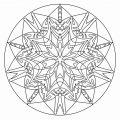 Mystical Mandala Coloring Pages