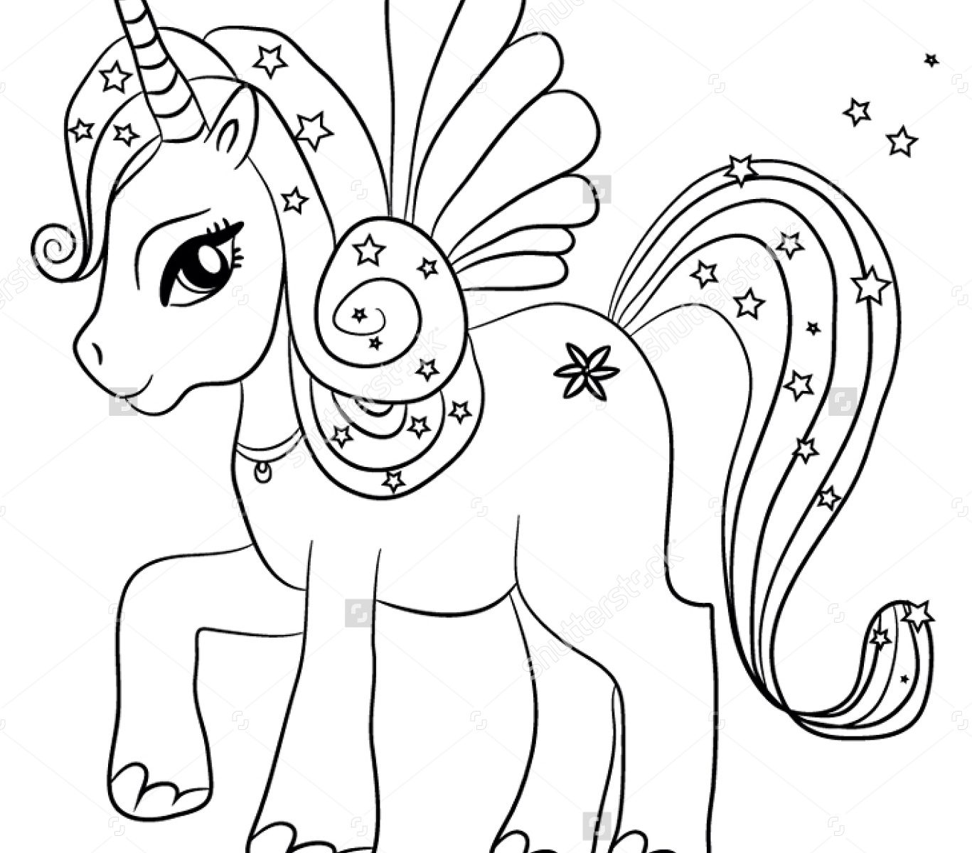 Coloring Page ~ Tremendous Unicorn Coloring Sheets Rainbow Drawing