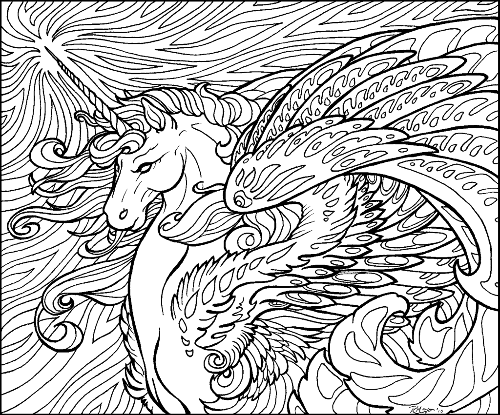 Coloring Page ~ Coloring Page Unicorn Book Forults Pages Lult