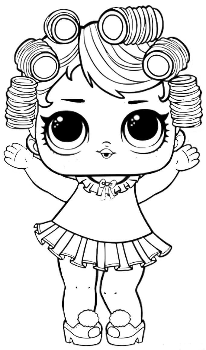 Coloring Pages ~ Coloring Pages Baby Doll Lol Surprise Bday