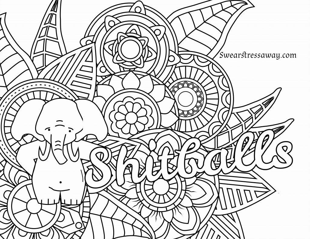 Coloring Pages ~ Coloring Pages Printable Adults New Free Swear