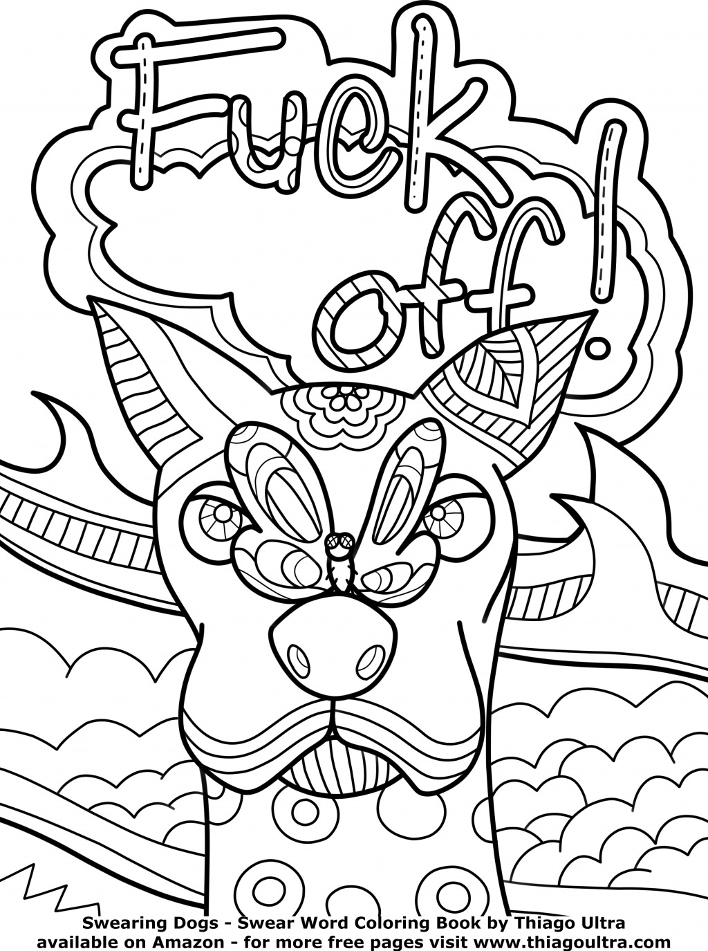 Coloring Pages Curse Words At Getdrawings