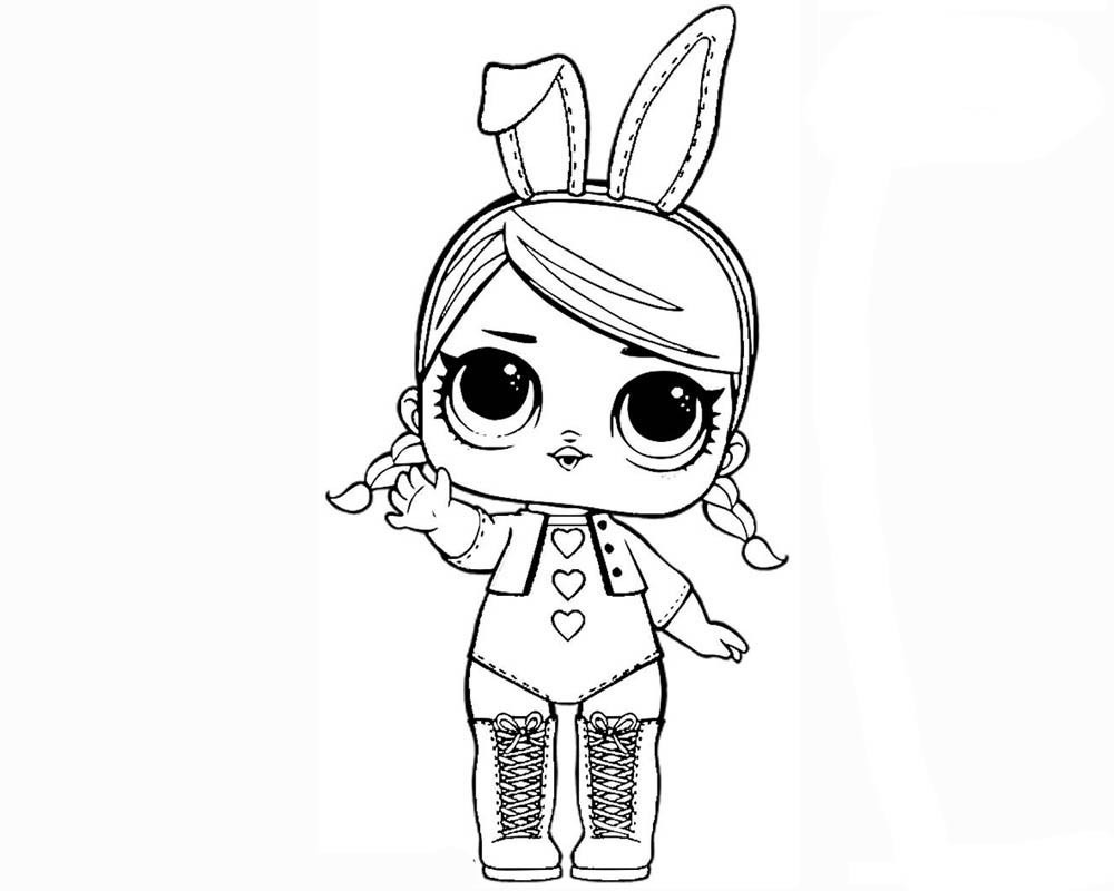 New Coloring Pages Lol Dolls Free