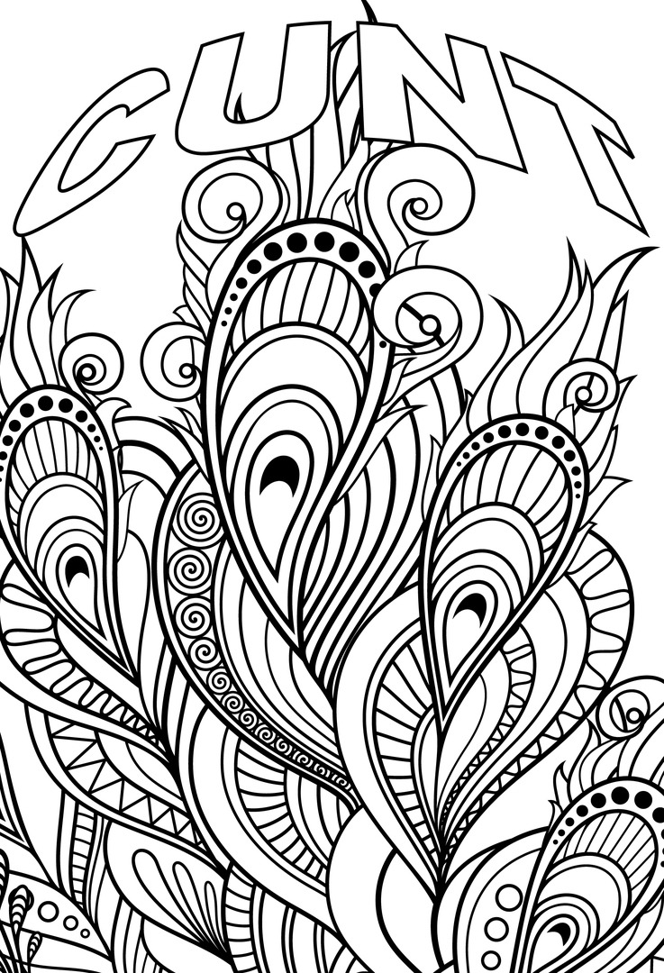 Coloring Pages ~ Swear Word Coloring Pages Best For Kids Fabulous