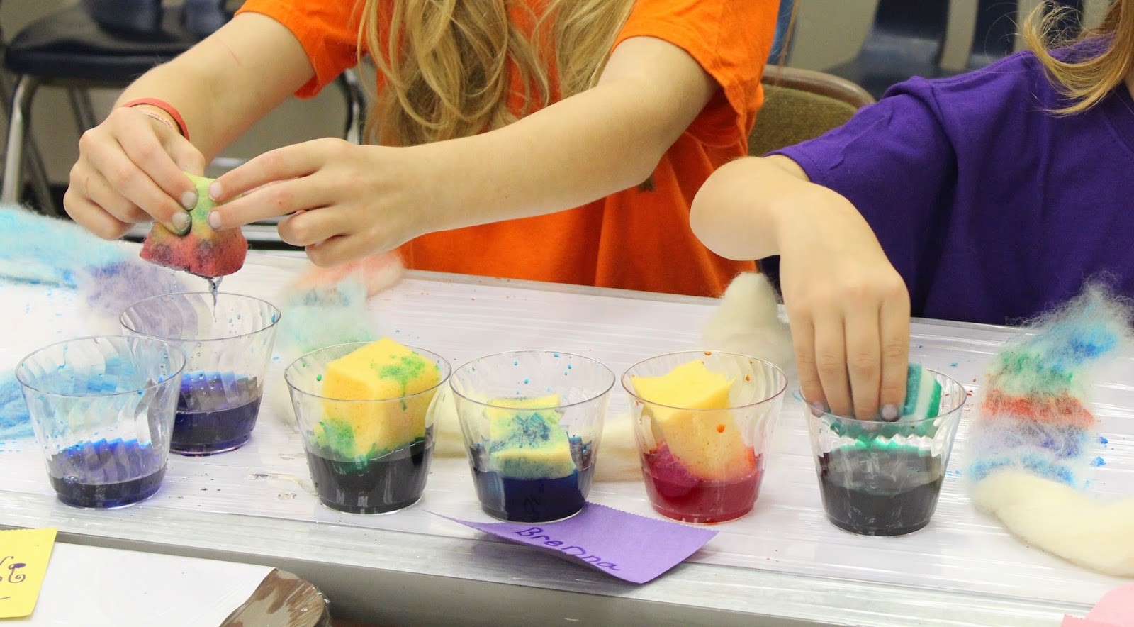 Dyeing With Food Coloring