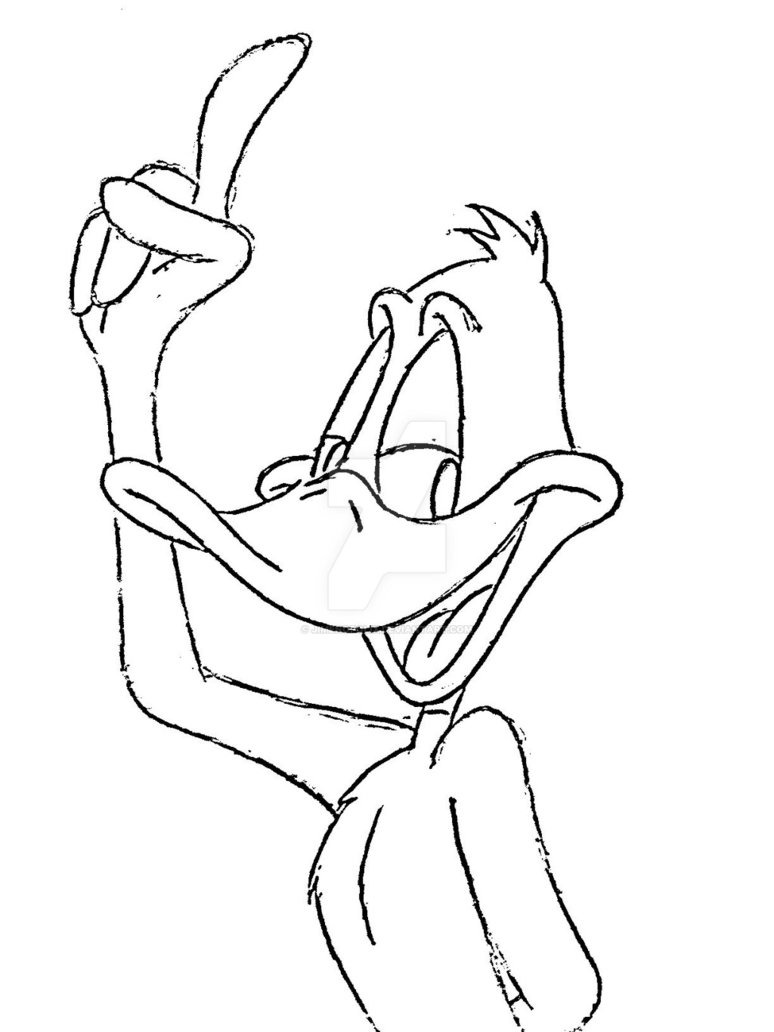 Daffy Duck By Jimenopolix On Deviantart