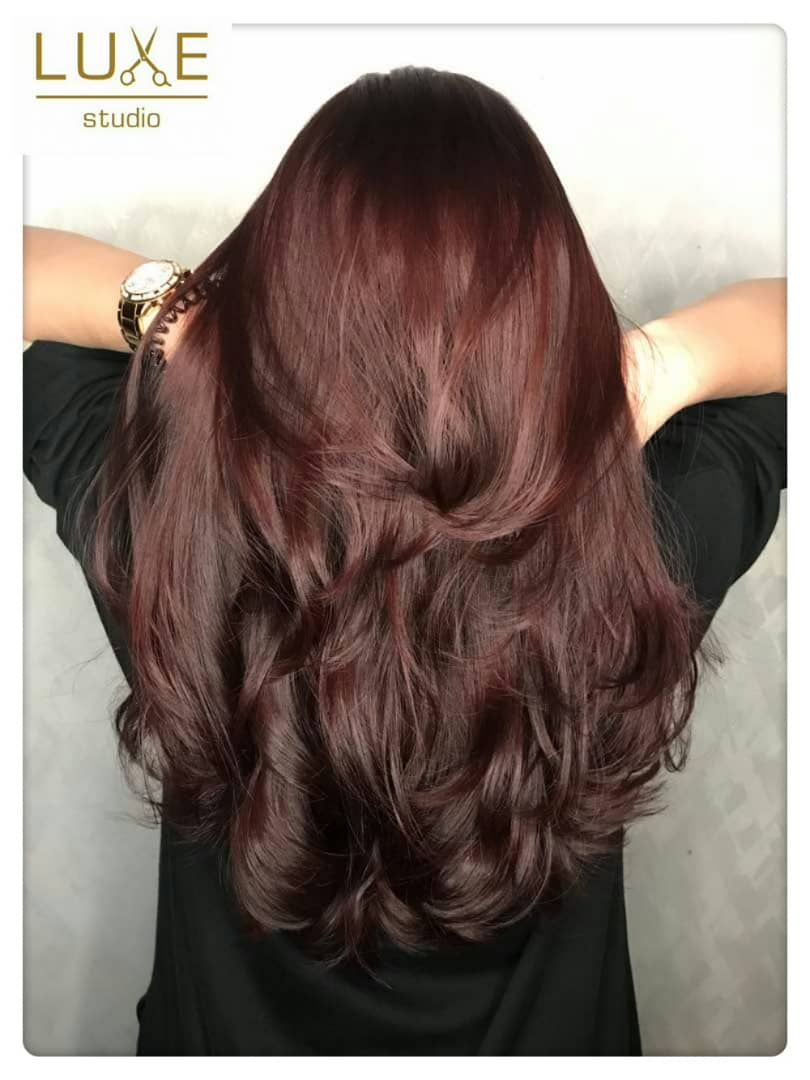 Korean Wave Perm ~ Summer Cherry Hair Color, Just Takes Your