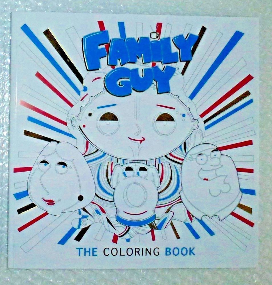 Family Guy Adult Coloring Book Titan 2017 1st Ed Uk Print 20th Cen