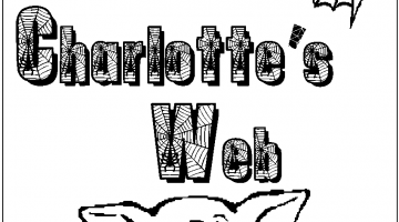 Charlottesweb Characters Coloring Pages